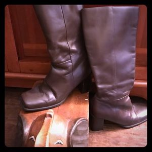 Great Fall Chocolate Brown Calf Boots.